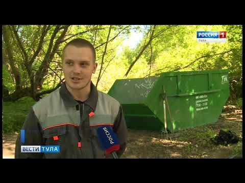 В Ясногорском районе взялись за восстановление парка усадьбы Федяшево