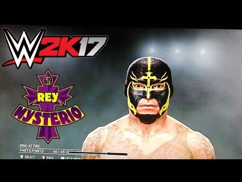 WWE 2k17 Xbox 360/ps3 Rey Mysterio Caw