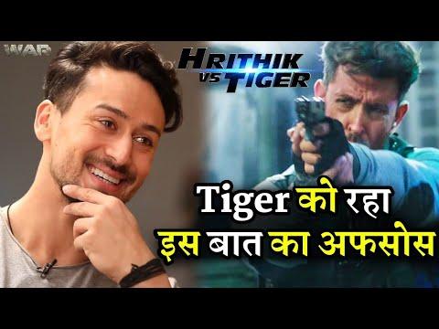 Tiger Shroff Reveals he Misses War Promotion with Hrithik Roshan