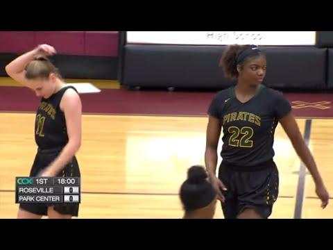 Park Center vs. Roseville Girls Basketball Section Semi-Final