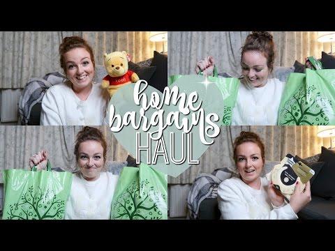 HOME BARGAINS HAUL 2017! ♡   Brogan Tate
