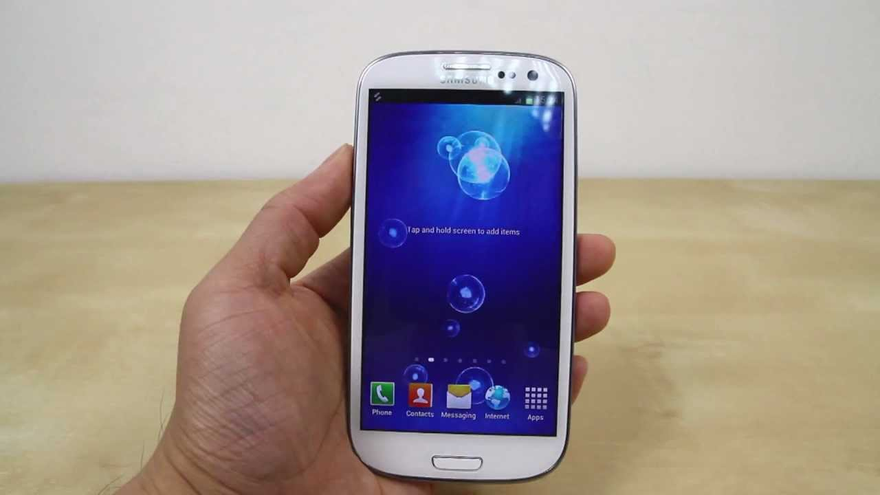 how to change the wallpaper on samsung galaxy s3 (aka s iii s 3