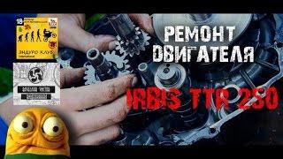 Ремонт двигателя IRBIS TTR250