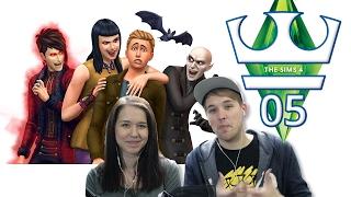 Jirka a Katka Hraje - The Sims 4 S03 E05 - Máme Upírku!