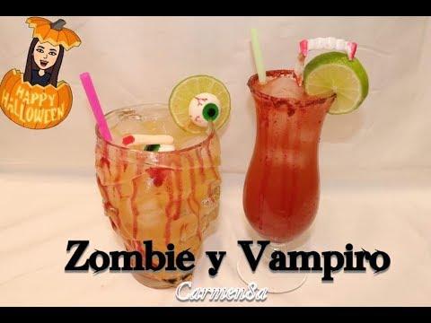 Bebidas Vampiro y Zombie para Halloween En Vivo
