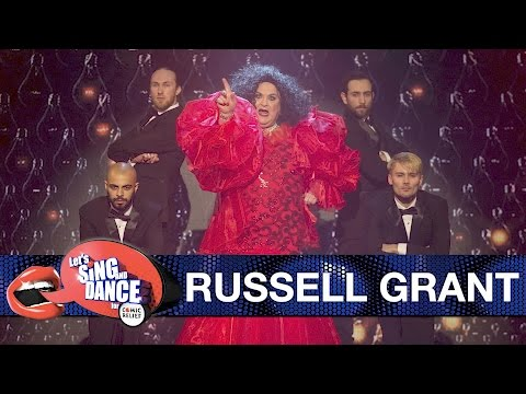Russell Grant performs 'Chain Reaction' by Diana Ross - Let's Sing and Dance for Comic Relief 2017