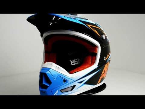 Answer Evolve Helmet - Sector Blue Orange  - 360° Video