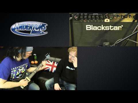 Blackstar ID Series Amplifier Demo