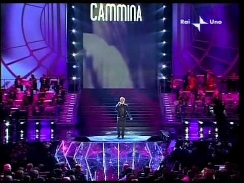 """Sanremo 2008 - Amedeo Minghi - """"Cammina cammina"""" (Live/Hi-Fi Quality)"""