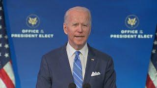 video: Joe Biden unveils $1.9 trillion Covid plan to end America's 'crisis of deep human suffering'