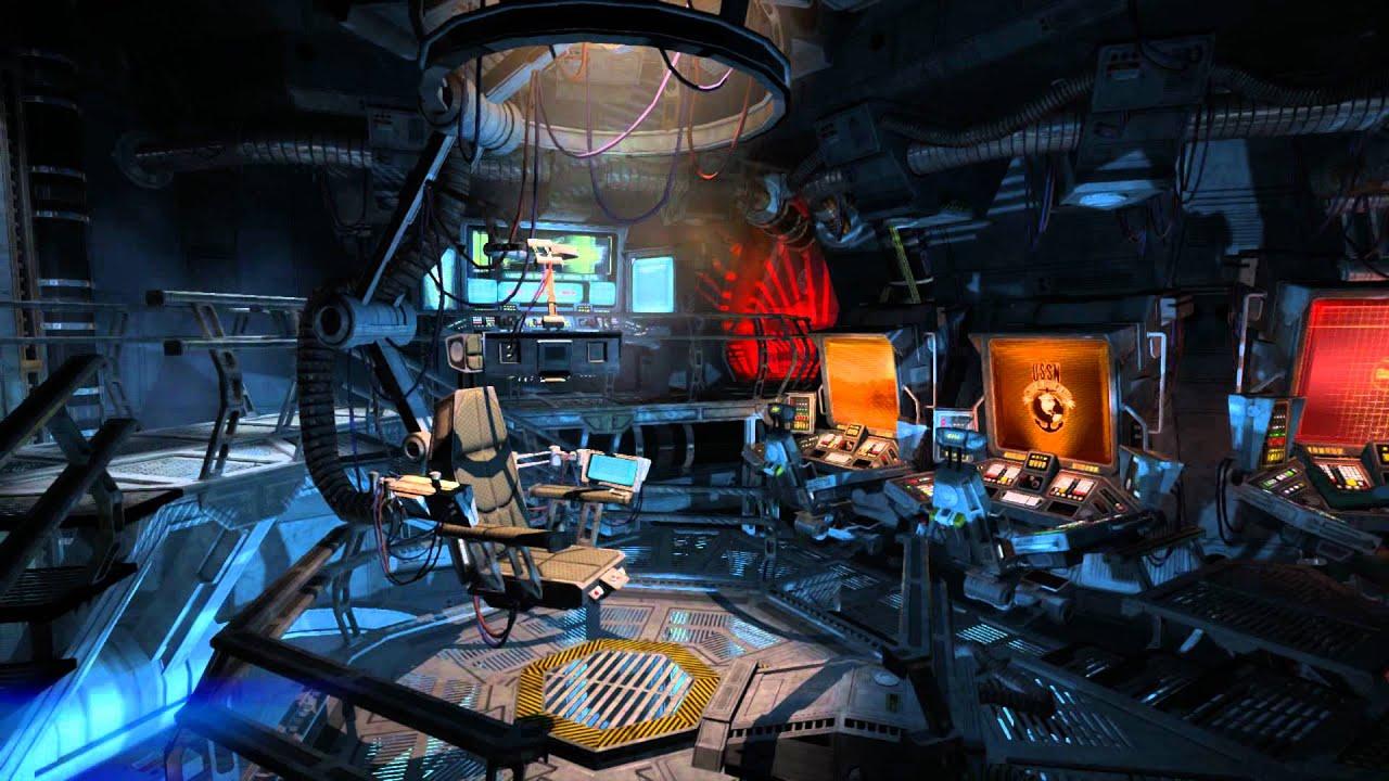 single person bridge sci fi spacecraft - photo #9