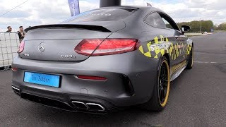 Mercedes-AMG C63s Coupé Edition 1 'Taxi Edition' - DRAG RACING!