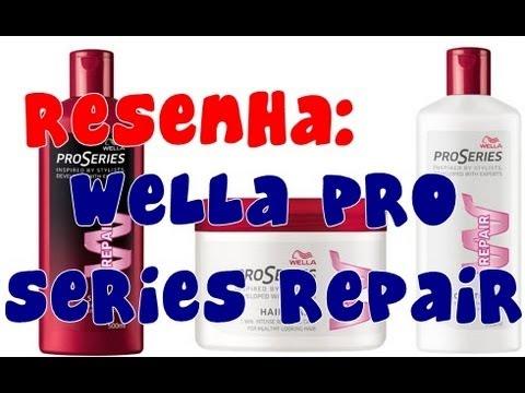Resenha: Wella Pro Series Repair