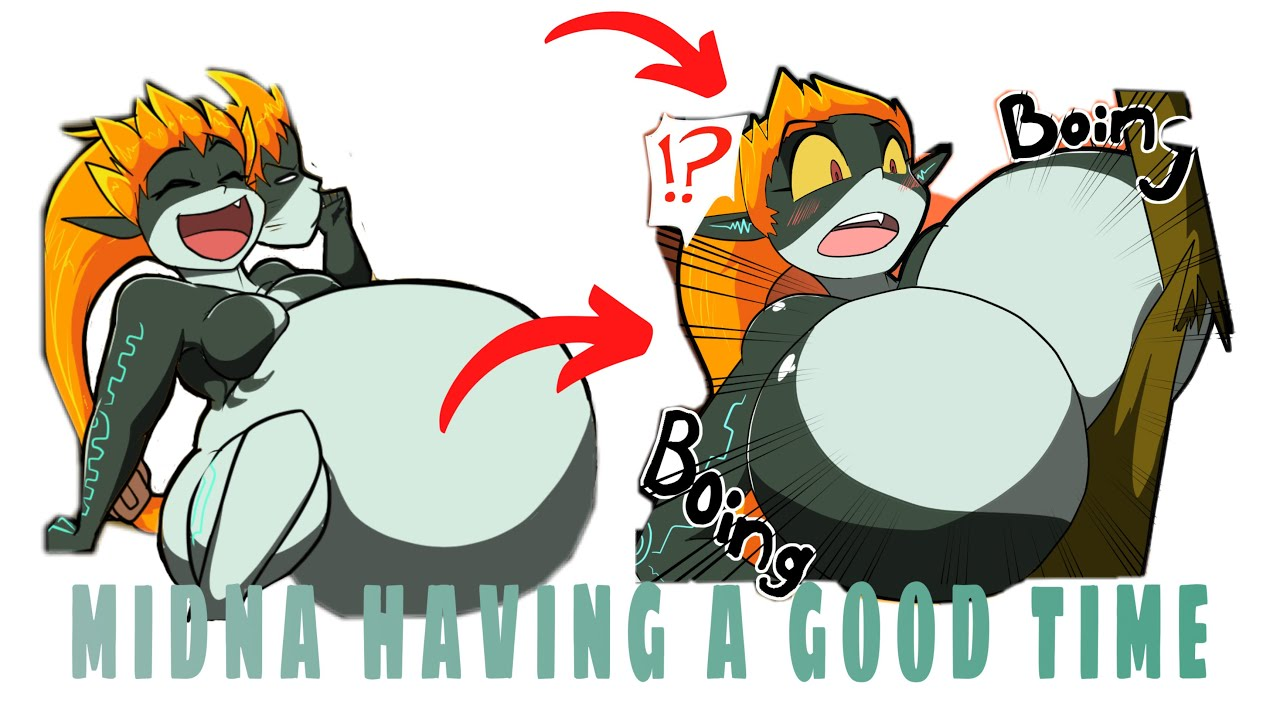 Download Midna have a good Day / Breast Expansion & belly inflation /