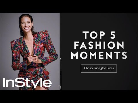 Christy Turlington Burns's Top 5 Fashion Moments | InStyle