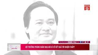 Ông Phùng Xuân Nhạ nói gì về kết quả tín nhiệm thấp?