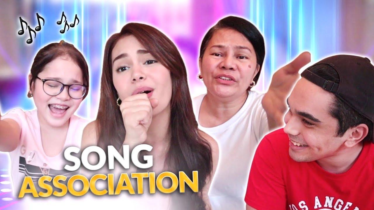 SONG ASSOCIATION GAME! | IVANA ALAWI