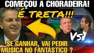 FLAMENGO X GLOBO URGENTE!! | RODOLFO LANDIM | GALVÃO BUENO X CAIO RIBEIRO