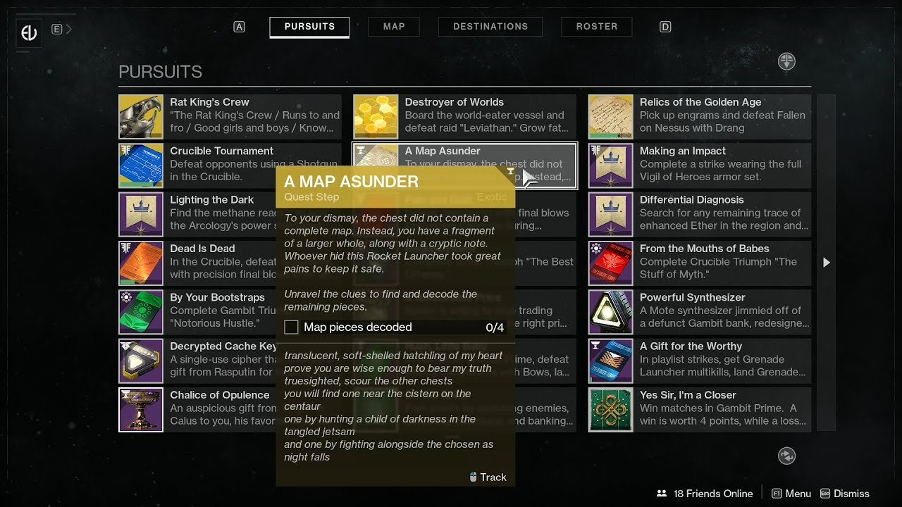 Destiny 2 Truth quest steps: How to find A Map Asunder fragment