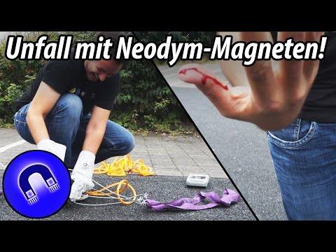 So extrem gefährlich sind Neodym-Magnete! (XXL)