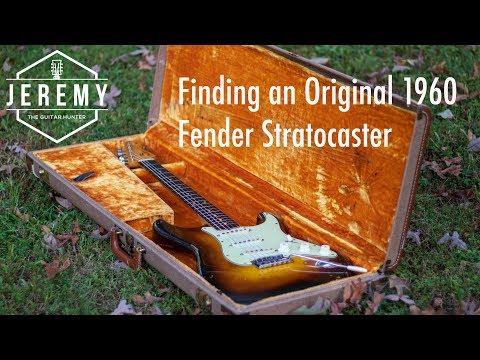 Finding A 1960 Fender Stratocaster! Jeremy The Guitar Hunter