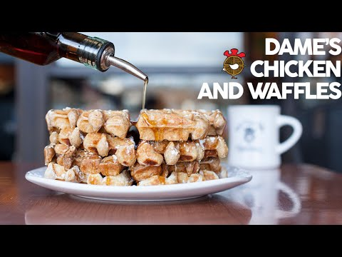 GET YOUR GRUB ON EP.5: Dame's Chicken & Waffles