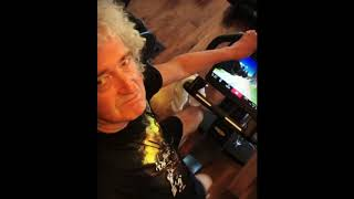 Brian May: Been stepping up this training a bit 29082018