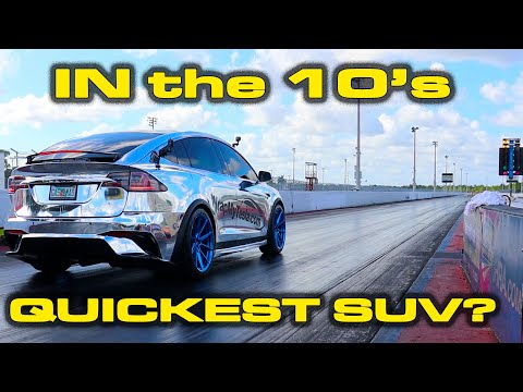 IN THE 10's! * NEW Tesla Model X Performance 1/4 Mile Record * Model 3, TT Huracan & More