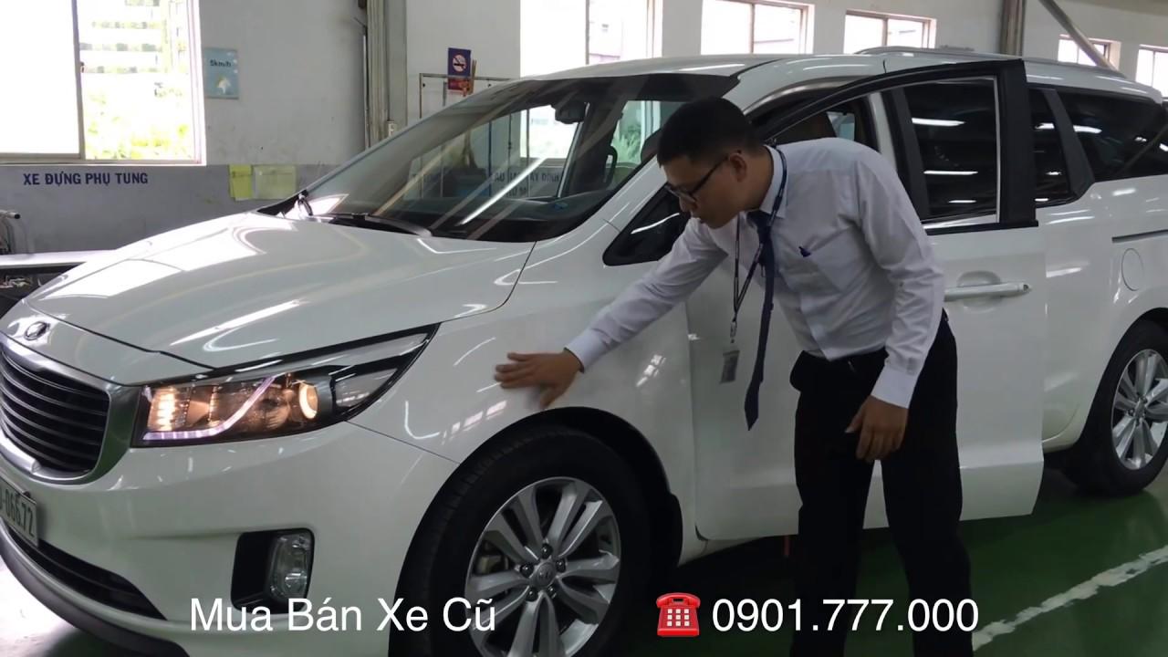 Kia Sedona 2015 – Chuyên Cơ Mặt Đất giá rẻ tại Toyota Tân Cảng – Xe Cũ Chính Hãng – ĐÃ BÁN