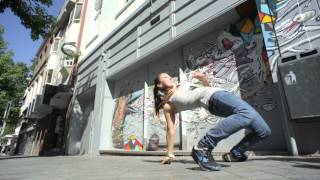 YAK Dance Tutorials - Bgirl Jilou Breaking Tutorial Part 2