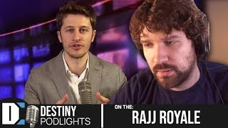 Conspiracy theories, Buttigieg & more - Destiny on the Rajj Royale