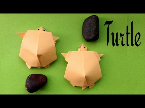 Turtle / Tortoise - DIY | Animal Origami | How to make
