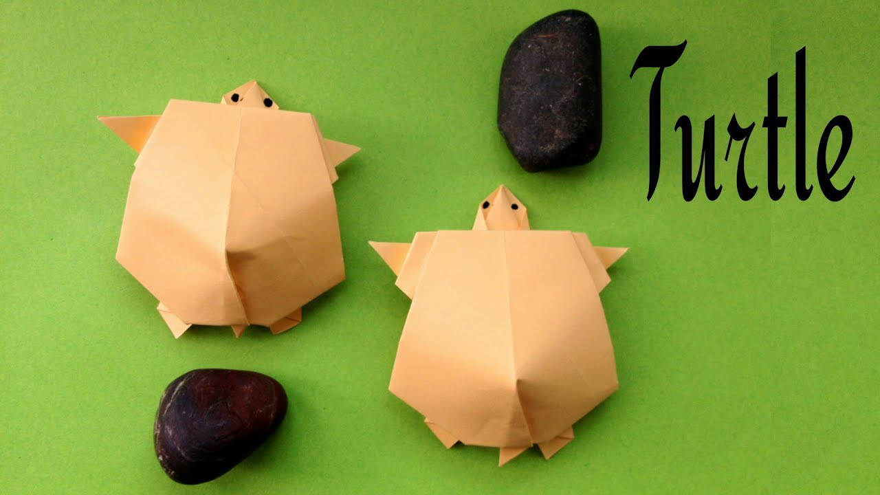 Turtle tortoise diy animal origami how to make youtube turtle tortoise diy animal origami how to make jeuxipadfo Image collections