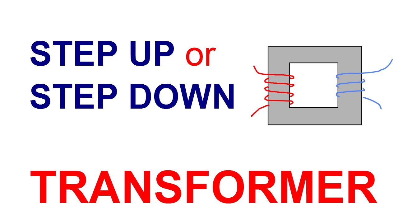 Step up step down transformer calculations youtube step up step down transformer calculations greentooth