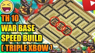 Clash Of Clans - BEST Town Hall 10 (TH10) War Base 2017| ANTI 3 STAR | ANTI EVERYTHING | TRIPLE XBOW