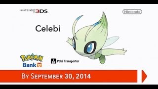 Pokemon Bank Offering A Free Celebi?!