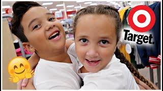 Back To School Shopping At TARGET!! 🎯😋 |Lala & DayDay|
