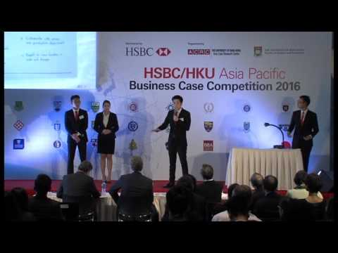 2016 Round 4 Team 1 HSBC/HKU Asia Pacific Business Case Competition