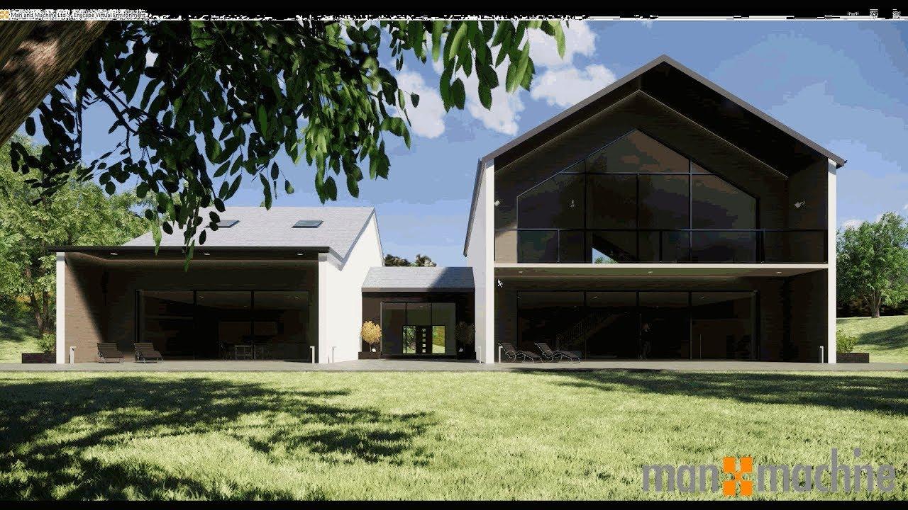 Revit modern house autodesk revit architecture 2019 for Autodesk home design