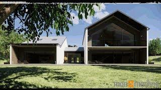 Revit Modern House - Autodesk Revit Architecture 2019 Demonstration