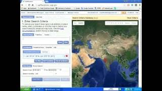 How to download satellite images from usgs website