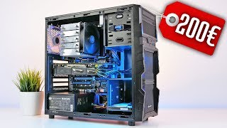 200 Euro Gaming PC MONSTER im Test | PUBG Battlefield 1 Doom Dirt 4
