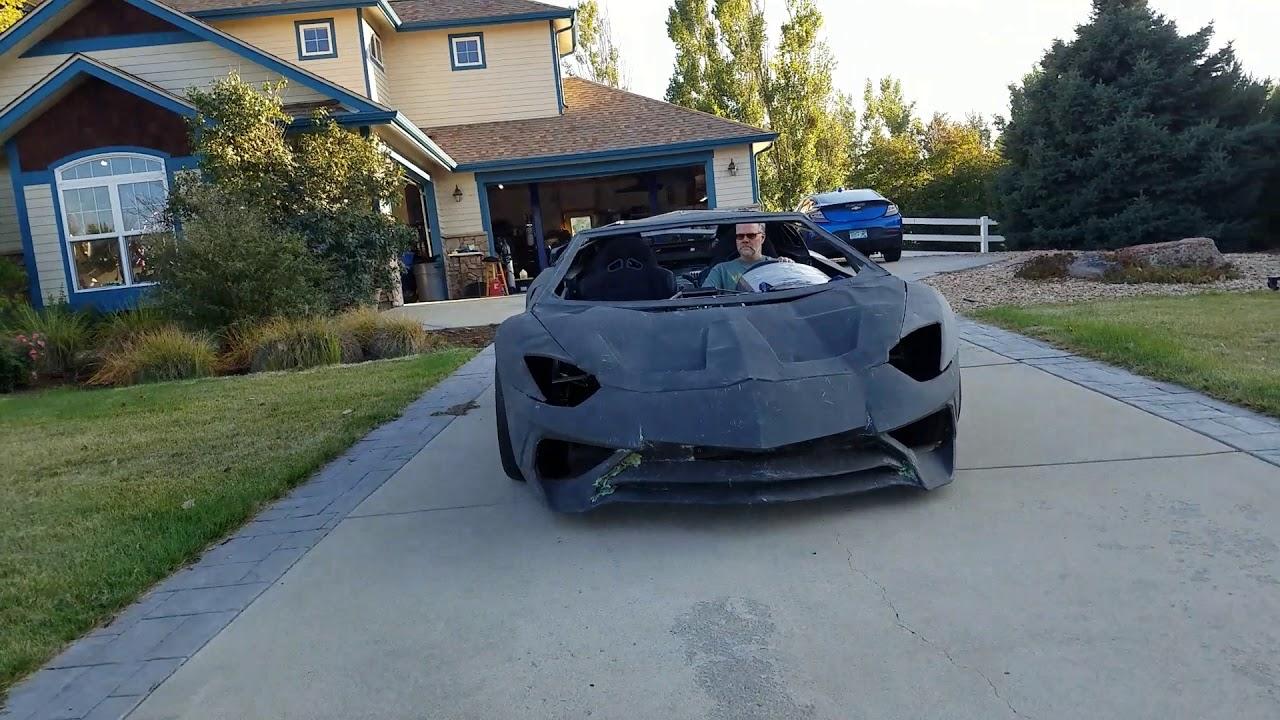 Physicist Designed And 3d Printed A Lamborghini Aventador