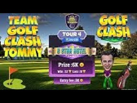 Golf Clash tips, TOUR 4 - Milano Hole 2 - Par 4, GUIDE/TUTORIAL