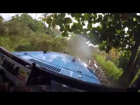 American Goes Extreme 4x4 Off-roading In The Mountains Of Zamboanga City Philippines.