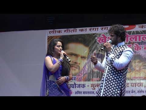 दीपावली पर मुंबई में खेसारी लाल और निधि झा का रंगारंग स्टेज शो: New Bhojpuri Stage Show Live 2017