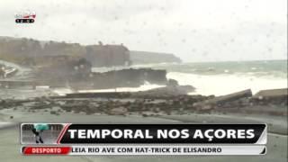 Balanço do Mau Tempo nos Açores (Video TVI24)