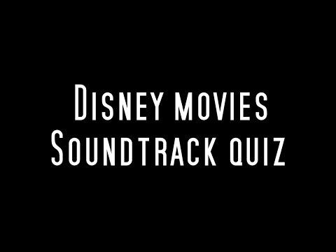 Disney soundtrack quiz