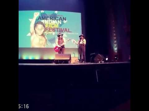 "Miracle Dolls  cover Tom Petty ""i wont back down"" 42 American Indian Film Festival San Francisco CA"