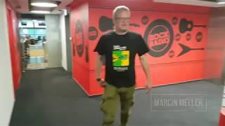 Marcin Meller w akcji dla Rak'n'Roll [Rock Radio]